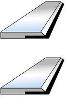 2 fers de dégauchisseuse CARBURE en 260 x 20 x 2.5 mm - Top qualité !
