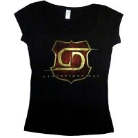 Damnations Day European Tour Ladies Scoop Neck Shirt S M L Girls Womens T-Shirt