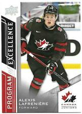 "2020-21 UD Team Canada Juniors Hockey Program of Excellence ""You Pick from list"""