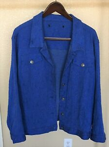 Unknownr Plus Size Blue Blazer