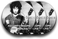 3x GARY MOORE STYLE AUDIO CDs ROCK GUITAR BACKING JAM TRACKS CD LIBRARY