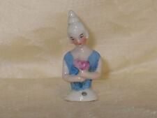Miniature Antique VTG German Porcelain Pin Cushion Half Doll~Marie Antoinette