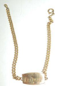 "bracelet en plaqué or "" Gilbert """