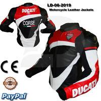 ducati Motorbike Motorcycle Rider  racing men new Leather  Jacket LD-06-2019