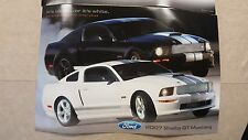 Shelby GT Dealer Poster plus extra poster! -Very RARE! Best deal on EBAY