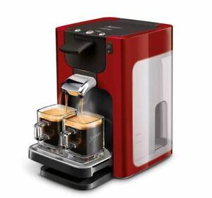 PHILIPS SENSEO Quadrante Machine à Café HD7866/81 Cafetière à Dosettes Rouge