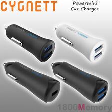 GENUINE Cygnett Powermini Car Charger USB-C PD Power Delivery USB-A 2.0 QC 3.0