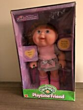 NEW RARE Cabbage Patch Kids Playtime Friend Special Needs Doll Braces+Crutches