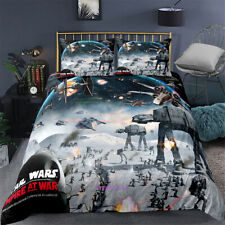 Linen Star Wars Doona/Quilt/Duvet/ Cover Set Single/Double/Queen/King Size Bed