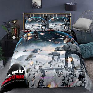 Linen Star Wars Doona/Quilt/Duvet/ Cover Set Single/Double/Queen/King Size Bed