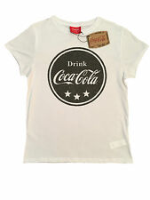 PRIMARK LADIES WOMENS DRINK COCA COLA COKE LOGO T SHIRT OFFICIAL BNWT 12