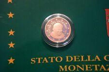 Une pièce de 2 cent  BE VATICAN 2010 sortie du coffret officiel