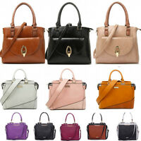 Women's Tote Bags Faux Leather Shoulder Top Handle Handbags For Women School
