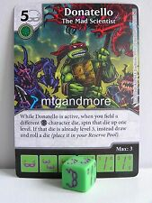 Dice Masters - #015 Donatello The Mad Scientist - Teenage Mutant Ninja Turtles