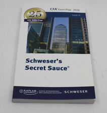 Schweser's Secrets Sauce Level 3 2016