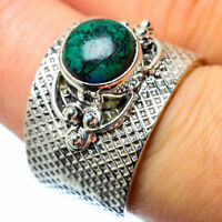 Tibetan Turquoise 925 Sterling Silver Ring Size 7 Ana Co Jewelry R27653F