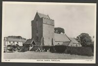 Postcard Porthcawl Bridgend Glamorgan Wales view Newton Church RP Raphael Tuck