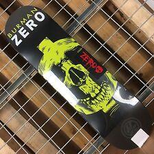 New Zero Burman Symbolism P2 Black/Yellow Skateboard Deck - 8.25in