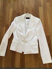 Reiss Ivory Fitted Blazer Jacket Size 10