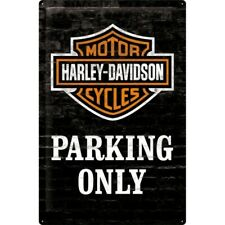 Nostalgic-Art 24010 Harley-davidson - Parking Only Blechschild 40x60 Cm
