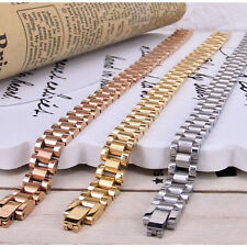 Fashion Jewelry Surgical Steel Rolex Chain Bracelet Wrist Bangle Band