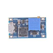 DC-DC USB 2~24V to 5~28V 2A Boost Step Up Adjustable Regulator Power ModuleSPES