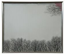 Winter Trees by Soichiro Tomioka Oil Painting on Canvas Abstract Landscape