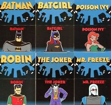 BATMAN ANIMATION POP UP Cards DC P1 - P12 COMPLETE SET free shipping