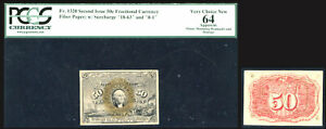 (1863-67 ) 5c Fractional Currency - Second issuePCGS 64-RARE POP 6