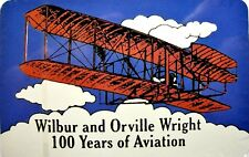 Wilbur and Orville Wright 100 Years of Aviation Souvenir Playing Cards
