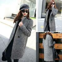 Winter Outwear Women Parka Overcoat Trench Coat Ladies Medium Long Warm Jacket