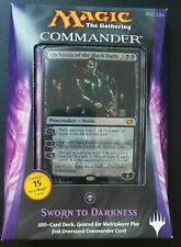 MTG Magic the Gathering SWORN TO DARKNESS 2014 Commander Deck. New Sealed! OOP!