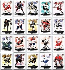 2008-09 FLEER ULTRA DIFFERENCE MAKERS 20 Card Insert Set Lot Crosby Rare Mint BV