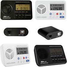 Automático Digital teléfono Grabador De Voz Para Teléfono Fijo Con Cable Y Teléfonos Inalámbricos