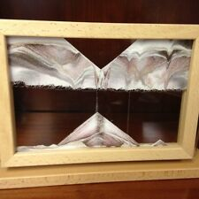Klaus Bosch's KB Collection Canyon Window Sand Art Moving Picture, Beech Frame