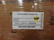 """Ceramic Fiber Blanket  2400   1"""" x 24"""" x 25' 8# Dens"""