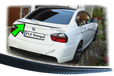 For BMW E90 Facelift Tuning Carbon Look Slim Sporty Spoiler Lip Demolition Edge