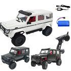 MN86 1/12 RTR 2.4G 4WD MN G500 Crawler Off Road Truck RC Car Model Car Kit Toys