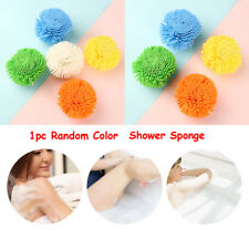 Colorful Exfoliation  Skin Care Puff Shower Sponge Bath Brush Shower Ball