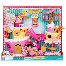 Lalaloopsy Minis Super Silly Party Musical Cake Playset with Curl  NEW!