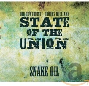 State Of The Union : Snake Oil (CD 2013) **NEW** BARGAIN!! FREE! UK 24-HR POST!!