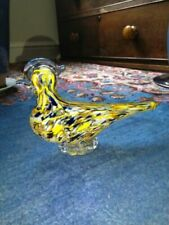 Figurine Bird Art Glass