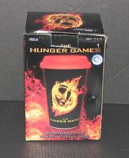 The Hunger Games Burning Pin Ceramic Travel Coffee Mug