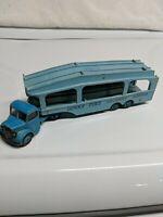 DINKY SUPERTOYS BEDFORD & 982 PULLMORE CAR TRANSPORTER BLUE 1954 MADE IN ENGLAND
