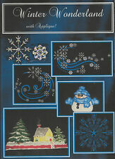 NEW! WINTER WONDERLAND EMBROIDERY COLLECTION  FOR HUSQVARNA VIKING &MOST MACHINE
