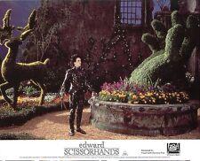 Edward Scissorhands Lobby Cartes Johnny Depp, Tim Burton, Winona Ryder
