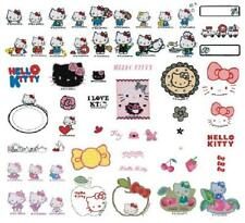 Brother embroidery card [I LOVE HELLO KITTY] 54 kinds ,58 patterns from Japan NE