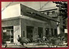 RIMINI CITTÀ 207 RIVAZZURRA o RIVA AZZURRA - BAR ADRIATICO Cartolina REAL PHOTO
