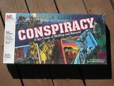 1982 NOS SEALED Milton Bradley CONSPIRACY Spy Game, International Espionage
