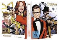 Kingsman The Dorado Circle Steelbook con Exclusivo Booklet Blu-Ray Box Set Nuevo